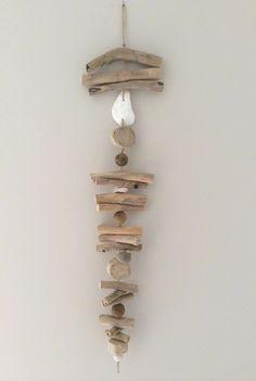 Guirlande en bois flotté par l'Atelier de Corinne : Accessoires de maison par atelier-de-corinne