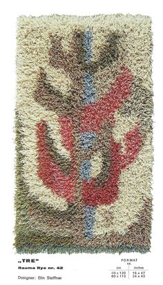 Rya Rug Making Make Your Own Norway Spinning Tapestry Weaving My Etsy Hand Hanging Tapestries Weave Do It Yourself