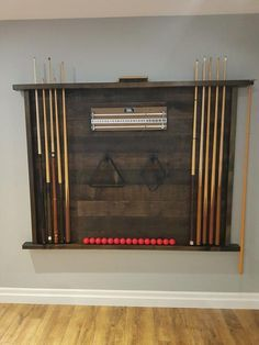 Rustic pool table accessory - My most creative list Diy Pool Table, Pool Table Room, Pool Tables, Game Room Basement, Basement Ideas, Teen Basement, Basement Pool, Basement Ceilings, Basement Makeover
