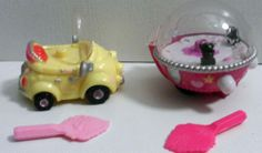 S Kachooz! Pencil Toppers toys, Merry go Round and Car with Keys