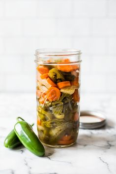 Mexican food recipes 439241769906634697 - These Pickled Jalapenos are easy to make and are great for topping on all your favorite Mexican foods like nachos, tacos and enchiladas! Canned Jalapenos, Pickling Jalapenos, Pickeled Jalapenos, Mexican Dishes, Mexican Food Recipes, Mexican Meals, Mexican Cooking, Gf Recipes, Enchiladas