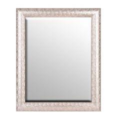Silver Peacock Framed Mirror, 28x34 | Kirklands