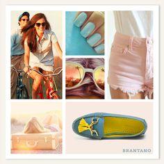 Goza del encanto del #verano con tus #Mocasines #Turquesa Vaqueta. http://www.brantano.com.mx/producto/970-mocasin-turquesa-vaqueta.aspx #estilo #mujer #chic #style #glamour