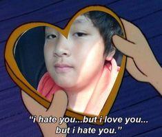 Funny Kpop Memes, Dankest Memes, Nct 127, K Pop, Reaction Face, I Hate You, Me Too Meme, Meme Faces, Reaction Pictures