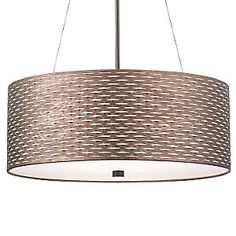 Cabaret Drum Pendant by Forecast Lighting at Lumens.com
