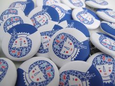 Great badges made by Steffie Brocoli