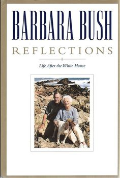 BARBARA BUSH Reflections Life After the White House Signed Autographed Book