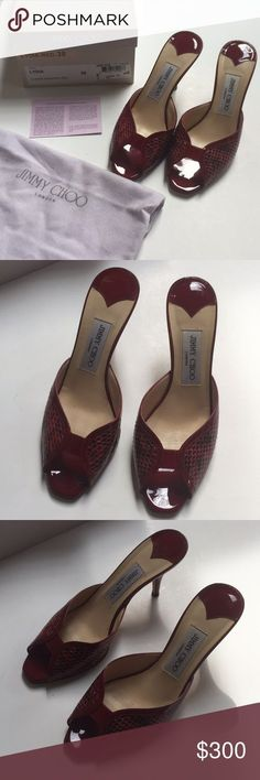 754b05bdddd Jimmy choo Lydia shoes Authentic Jimmy choo shoes that are used a handful  of times.