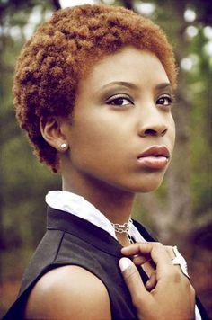Short Natural Hair Styles | Cute Natural Short Hairstyles for Black Women Detail: