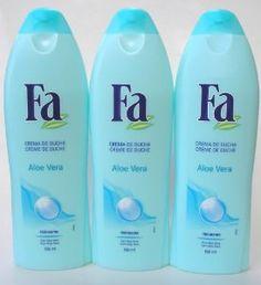 4 Pack Fa Shower Cream Yoghurt Aloe Vera for Dry Skin 8.4oz Each Bioelements - Gentle Creme Eye Makeup Remover - 118ml/4oz