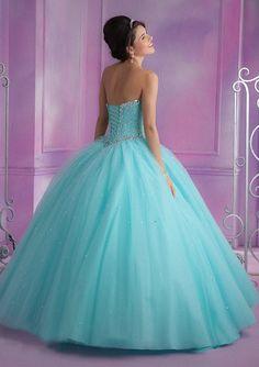 Vestidos de 15 anos vestidos del Quinceanera 2015 sweet 16 vestidos azul rosa coral sin mangas cariño blusa corsé del vestido de bola en Vestidos de Quinceañera de Bodas y Eventos en AliExpress.com   Alibaba Group