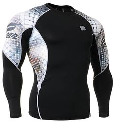 Fixgear Compression Running base layer Shirt Long sleeve