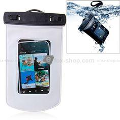 Wasserdichte Tasche für iPhone, iPod, Mobiltelefone , MP3, MP4 , etc. weiß