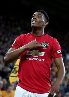 Anthony Martial puts Manchester United ahead with his goal for the club Paul Pogba Manchester United, Manchester United Players, Best Football Team, Football Pictures, Football Art, Football Players, Neymar Jr Hairstyle, Manchester United Wallpaper, Anthony Martial