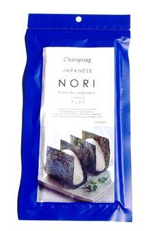 Alga Nori-Hoshi (Hojas) - 25G. Popularmente conocida por ser el alga marina que se utiliza para elaborar los famosos #Sushis