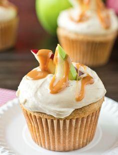 Delicious Desserts: Caramel Apple Cupcakes | Recipe