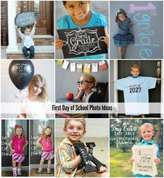 First Day of School Photo Ideas - The Idea Room