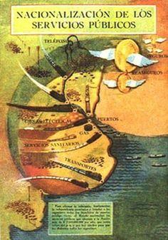 """""""Mundo Peronista"""" en afiches y más (1946 - 1955) - Imág... en Taringa! Dani, Llamas, Socialism, World, Military Dictatorship, Eva Peron, Public Service, Retro Advertising, Pansy Flower"""