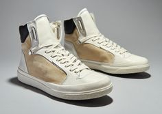 Pantofola d Oro Hex Hoop Vitello/Suede Bianco | Mens Shoes sneakers