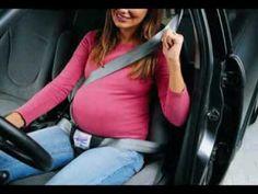 Uso del cinturón de seguridad del vehículo durante el embarazo