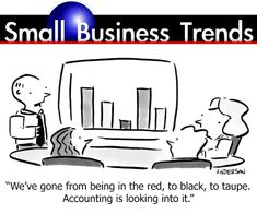 Small Business Trends Cartoons- Small Business Humor