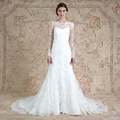 Romantic Long Sleeved Lace Wedding Dress Miriam from Sareh Nouri