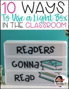 Lightbox Tips, Tricks, and Ideas - Learning In Wonderland