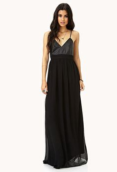 Secret Rebel Maxi Dress | FOREVER21 - super cheap and it looks like something you would look badass in amanda!!! can i get it for you??