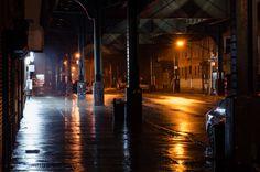 Rainy Night Lights