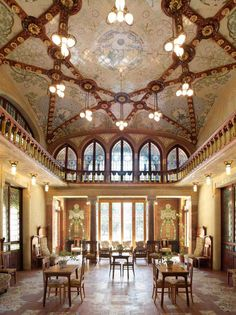Architect: Lluís Domènech i Montaner Art Nouveau, Art Deco, Barcelona Catalonia, One Day Trip, Master Plan, Art And Architecture, The Good Place, Mansions, Interior Design