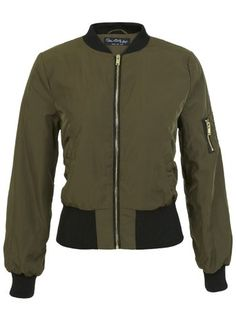 Khaki Bomber Jacket, OMG how nice is this!!!!