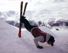 """One way to get pushups in Bringing the skiing passion to your exercise workouts, nice <a href=""""http://Www.Snowskiingfun.Com"""" rel=""""nofollow"""" target=""""_blank"""">Www.Snowskiingfun...</a>"""