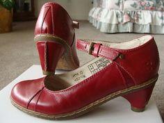 Dr Martens Red Heels
