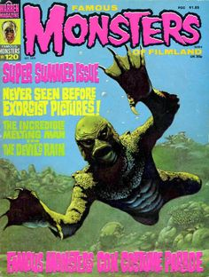 gameraboy:  Famous Monsters #120 (1975) by Roland