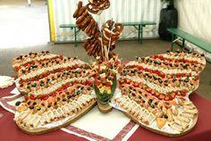 apéritif papillon mariage