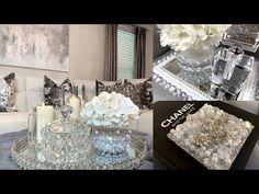 Dollar Tree DIY Home Decor Ideas | Glam Mirror Dollar Tree DIY | LGQUEEN Home Decor - YouTube