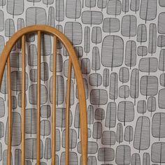 Little Trees Monochrome - retro tapet Wallpaper Stores, Tree Wallpaper, Wallpaper Online, Modern Wallpaper, Print Wallpaper, Designer Wallpaper, Pattern Wallpaper, Usa Wallpaper, Hallway Wallpaper