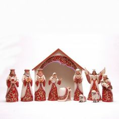 Jim Shore Christmas Adoration-Eleven Piece Majestic Nativity Set