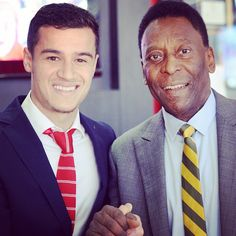 """Phil, meet Pele #LFC"""