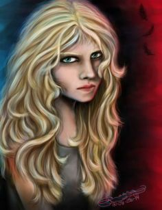 The gorgeous digital portrait of Thalia as done by Tressa Green.