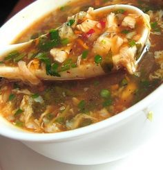 #Chickenmanchow soup - #Manchowsoup is a soup popular in Indian Chinese cuisine due to its ease of preparation and hot spicy taste. It is available in large restaurants and street food carts alike. Is prepared with various vegetables, scallions, & chicken (in the non-vegetarian version only), thickened with stock and corn flour, and flavored with relatively generous doses of soy sauce, salt, garlic, chili peppers.  @MakhanFish And Chicken Corner