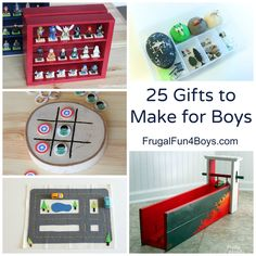 25 homemade gifts boys will love homemade gift and kid activities 25 gifts to make for boys homemade gift ideas that boys will go for solutioingenieria Image collections
