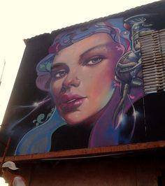 Street Art By El Raf - Lima (Peru)
