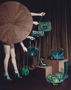 Barbara Donninelli - Photos - VOGUE UK - Accessories | Michele Filomeno