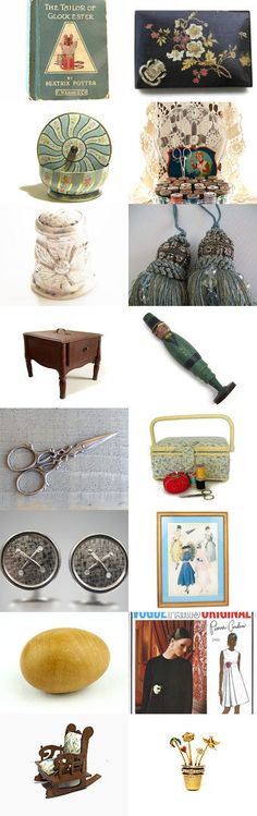 Sewing Necessities by Encore Emporium on Etsy--Pinned+with+TreasuryPin.com