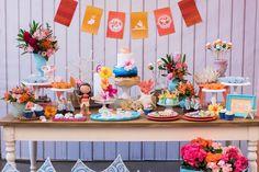 Festa infantil com tema Moana - Constance Zahn   Babies & Kids