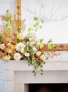 floral details on th