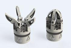 Robotic Gripper for 3D-Printing - SOLIDWORKS,STL - 3D CAD model - GrabCAD