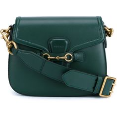 Gucci Leather Lady Web Shoulder Bag (81,110 PHP) ❤ liked on Polyvore featuring bags, handbags, shoulder bags, leather handbags, gucci, gucci purses, gucci handbags and green purse