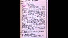 Pophullám.Szerkesztő:Csiba Lajos.1984.11.07.Petőfi rádió.13.05-13.45.